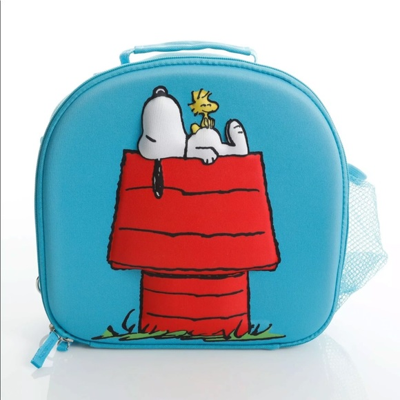 PEANUTS SNOOPY AND WOODSTOCK ADULT LUNCH BAG
